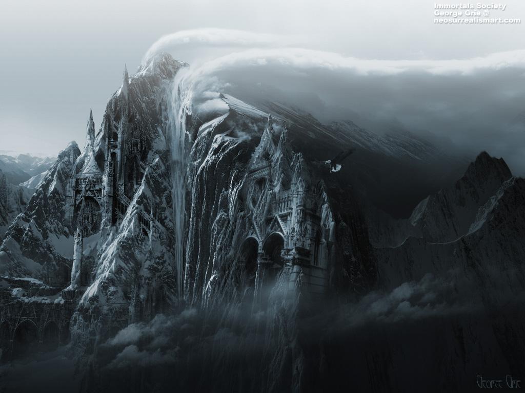 Fantasy Art Ice Lands