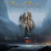 CD cover-art Dawn of Destiny, unused CDconsept, Praying to the world, Germany  Rock music band