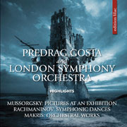 CD cover-art 2016 London Symphony Orchestra & Predrag Gosta UK/USA/Germany Rock music band