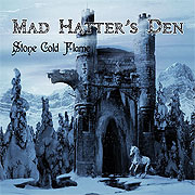 CD cover-art Mad Hatter's Den Stone Cold Flame, Finland Rock music band