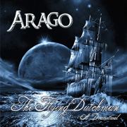 CD cover-art 2017 Arago, the flying dutchmen, Rock music band
