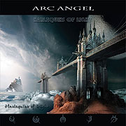 CD cover-art Arc Angel Harlequins of light, Frontiers/Universal USA, Exlusive license Rock music band