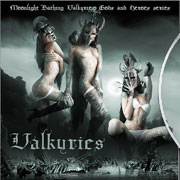 CD cover-art Valkyries: Gods and Heroes,USA Rock music band
