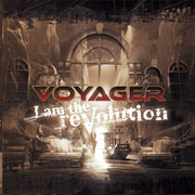 CD cover-art Voyager: I am the revolution, Australia Rock music band