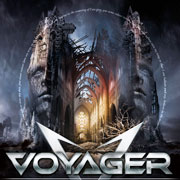 CD cover-art Voyager: The meaning of I, Australia Rock music band