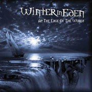 CD cover-art Winter In Eden, At the Edge of the World EP, UK Rock music band