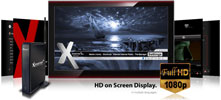 Xtreamer Network Media Player backgrounds