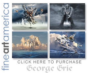 Wall art framed prints posters george grie surrealism
