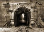 The way out or Suicidal ideation - modern art surrealism prints, 3d wallpaper, digital art poster