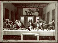 KFC The Last Supper by Leonardo da Vinci