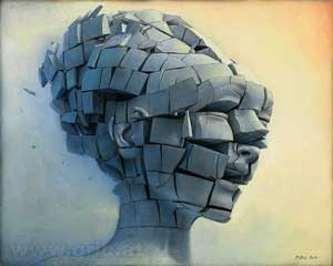 Dissolution of Ego VI 2017 - Peter Gric